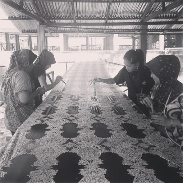 Gahara Batik, the Process